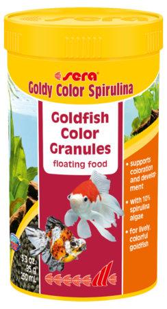 Sera Goldy Color Spirolina